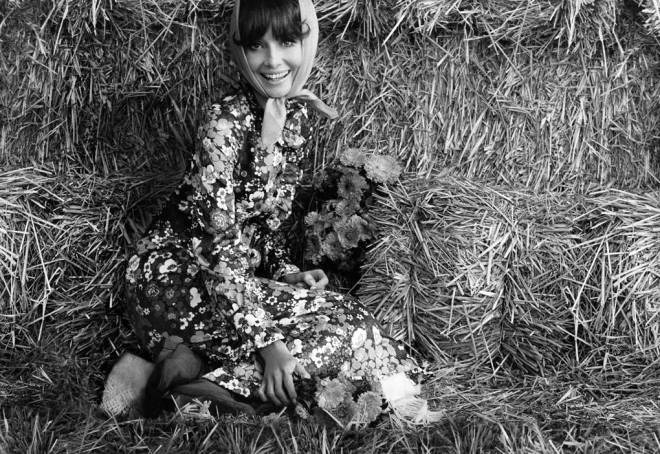 hepburn in the 70´s givenchy