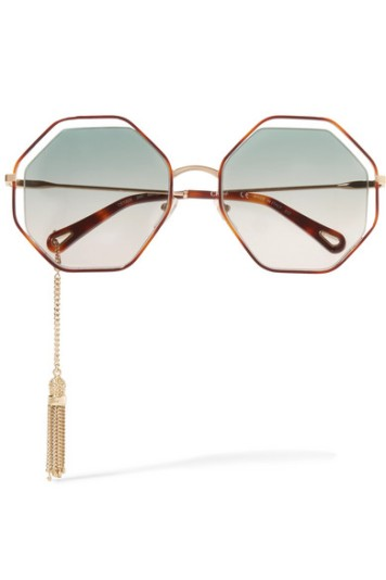 Chloé Gold Sunglasses Chain